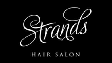 Strands Hair Salon Logo