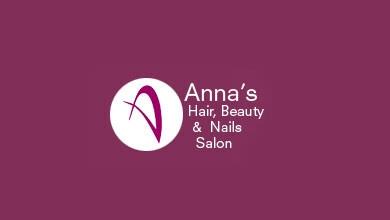 Annas Hair Beauty & Nails Salon Logo